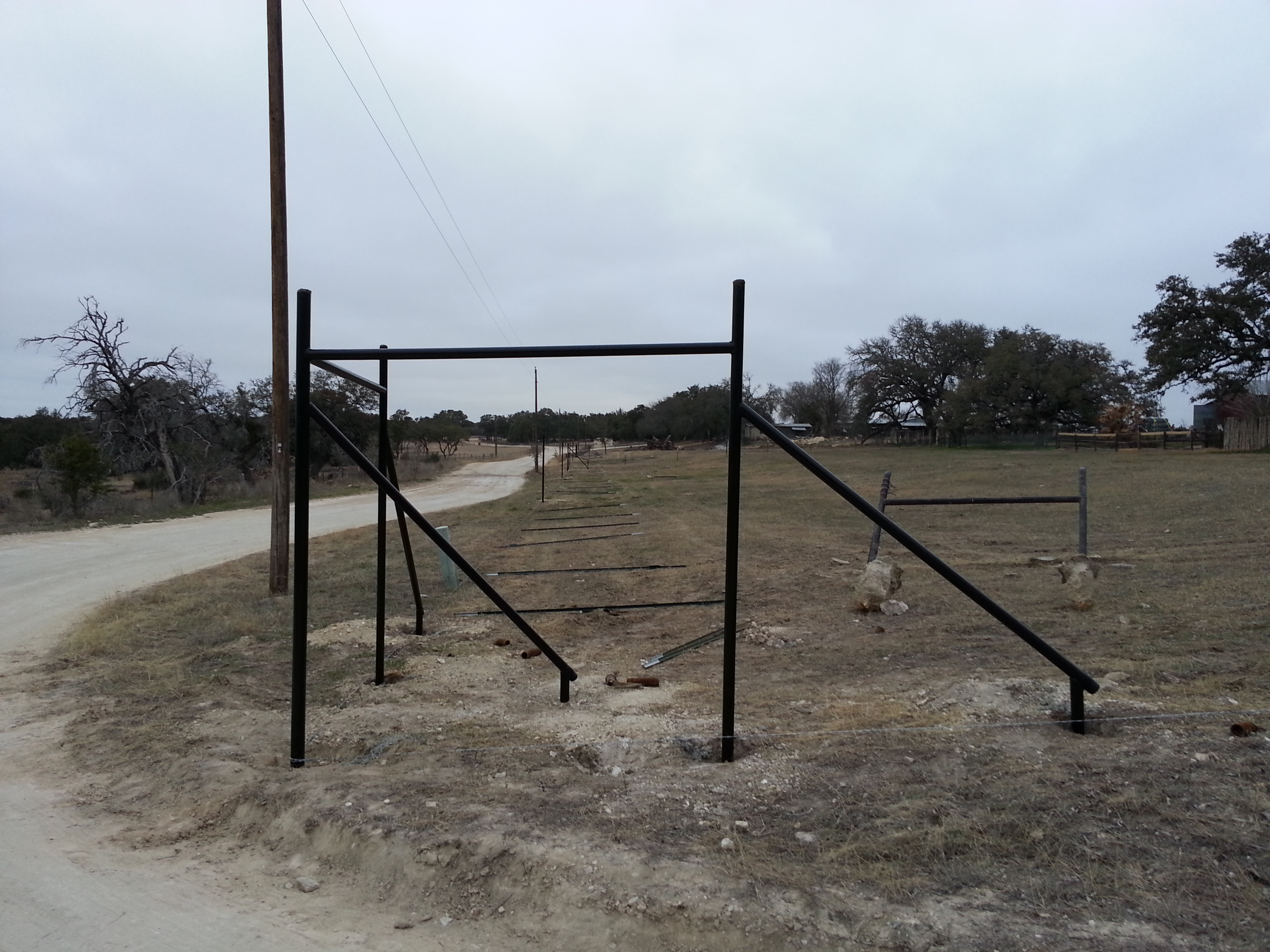 High Fence &Entrance in Boerne,TX2